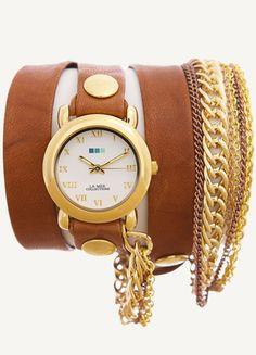 Kup mój przedmiot na #vintedpl http://www.vinted.pl/akcesoria/bizuteria/12133876-la-mer-collections-zegarek-gwiazd-usa-fossil-tommy