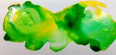 Ever wonder what mineral spirits does to watercolour and acrylic inks? ME TOO.