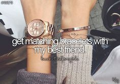 ✅ Get Matching Bracelets with My Best Friend | Bucket List Best Friend Bracelets, Best Friend Rings, Your Best Friend, Best Friend Goals, Summer Bucket Lists, 2017 Goals Bucket Lists, Bucket List For Girls, Best Friend Bucket List, Anklets