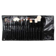 Yves Saint Laurent YSL Beaute Glossy Black Make Up Clutch Bag ...