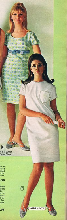 Aldens catalog 1966.  Cay Sanderson and Colleen Corby.