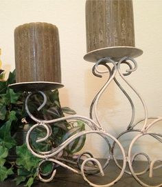Vintage Candle Holder by ElizabethLaneBoutiqu on Etsy, $19.00