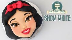 How to make a Snow White face cake from the Disney movie Snow White and the Seven Dwarfs. Perfect to use as a Disney birthday cake for your children :) You c...