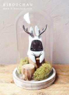 """Into The Woods"" Figurine by Kiboochan (2014)"