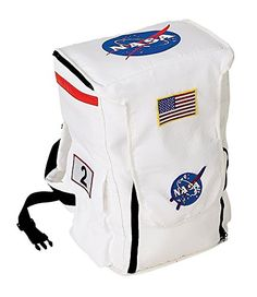 Astronaut Backpack, White, with NASA patches Best Halloween Costumes & Dresses USA Astronaut Outfit, Astronaut Helmet, Astronaut Costume, Nasa Patch, Nasa Clothes, Halloween Bags, Halloween 2019, Astronaut Halloween, Halloween Costumes