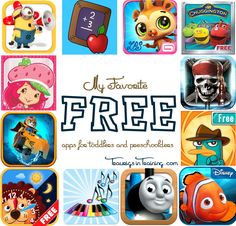 My Favorite FREE Apps for Kids