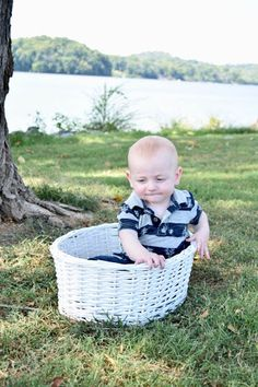 Asher, just one of many babies in our basket of adorables.