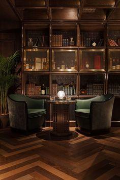Super Home Library Bar Interior Design Ideas Bar Lounge, Office Lounge, Style Lounge, Cigar Lounge Decor, Hong Kong Lounge, Office Bar, Whiskey Lounge, Whiskey Room, Home Bar Designs