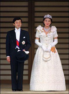 Crown Prince Naruhito and Crown Princess Masako of Japan