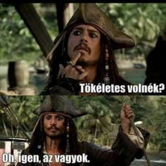Pirates of the Caribbean Stupid Memes, Funny Jokes, Funny Quotes For Instagram, Johnny Depp Movies, Pirate Life, Captain Jack, Pirates Of The Caribbean, My Mood, Make You Smile