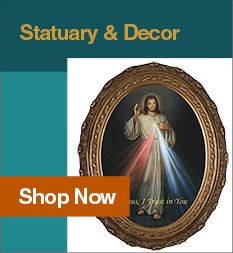 This Christian favorite depicts Christ knocking at our heart's door, a door with no handle, that we must open from within to receive His graces.