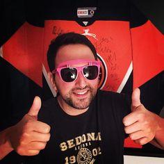 #isles #playoffs #game1 #hockey #wewantthecup #bandwagon #pink #DLNshades #visorshades #DLN #GlassesForACause