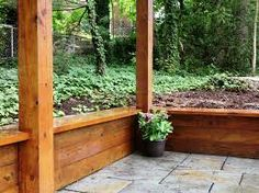Image result for retaining wall wood