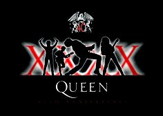 Queen 40th annivesary t-shirt design