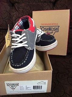 NIB- OshKosh B'Gosh Toddler Boy Sneakers Size 7 - http://clothing.goshoppins.com/baby-toddler/nib-oshkosh-bgosh-toddler-boy-sneakers-size-7/