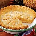 Glazed Pineapple Pie Recipe