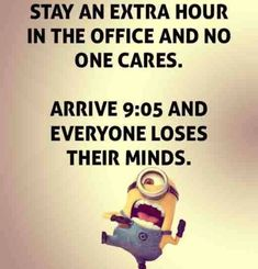 Funny Minions office work. 。◕‿◕。 See my Despicable Me  Minions pins https://www.pinterest.com/search/my_pins/?q=minions