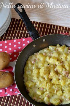Patate pancettate