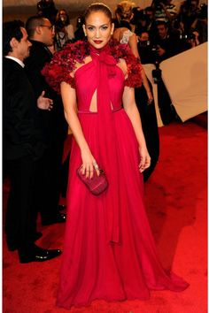 Jennifer Lopez's best looks ever: red Gucci