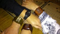 Team night out! Wooden Watch, Girls Night Out, Watches, Wood Watch, Girls Night, Wrist Watches, Ladies Night, Wristwatches, Tag Watches