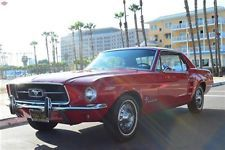 Ford : Mustang Coupe '67 Mustang, 1 family owned, Cal black plates, wonderful example