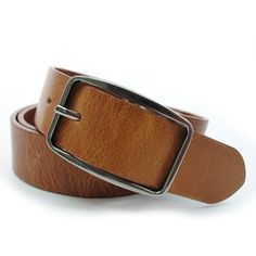 (JPB017-LIGHTBROWN) Casual Leather Belt from W28 to W38