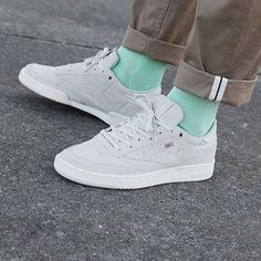 """1d57b3c8315  everysize on Instagram  """"Reebok Classic Club C 85 x Montana Cans Collab •  Clean and comfortable shoes! •  reebok  reebokclassic  reebokclassics ..."""