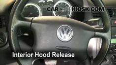 How to Add Oil Volkswagen Jetta (1999-2005) - 2004 Volkswagen Jetta GL 2.0L 4 Cyl. Sedan