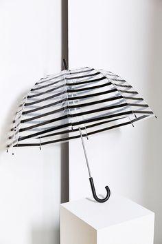 Stripe Bubble Umbrella - Urban Outfitters