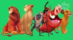 LionKing finger family | finger family nursery rhymes for children | 3d ...