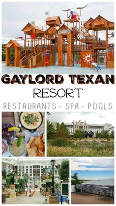 Ready for a Texas vacation? Head to the Gaylord Texan Resort in Grapevine to experience down-home luxury. They Gaylord is filled with amazing restaurants, fun pools, and a relaxing spa. Makes a perfect weekend getaway to Dallas!