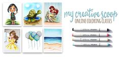Copic Markers: coloring dark to light or light to dark. Is there a right way to color using Copic Markers? Find out tips on coloring from dark to light! Free Printable Coloring Pages, Free Coloring Pages, Charm Armband, Copic Markers Tutorial, Alcohol Markers, Alcohol Inks, Neat And Tangled, Honey Bee Stamps, Slider Cards