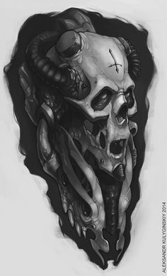 #skull #tattoo #art #photoshop #digitalart