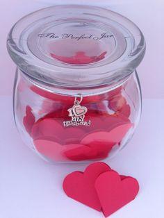 I Love My Husband Valentine's Day Gift by ThePerfectJar on Etsy, $19.95