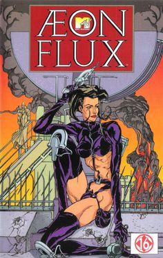 vhs-ninja:  Aeon Flux (1991) by Peter Chung.