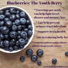 I love my some blueberries! Here's why YOU need to eat more of them :)