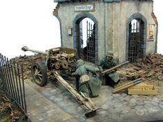 military dioramas   german pak edit dioramas 1 35 diorama
