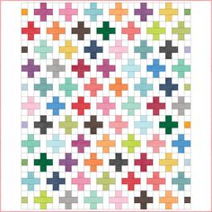 Carnival of Colour quilt pattern by Sue Daley Designs