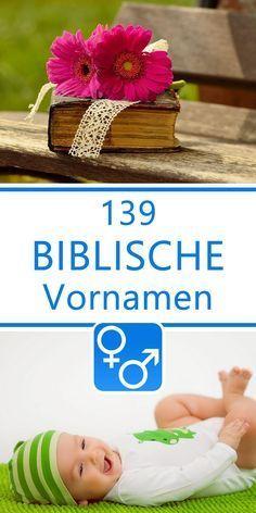 139 biblische Vornamen für Jungen und Mädchen