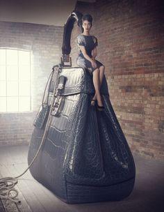 The Big Bag Theory by Lucia Giacani, via Behance
