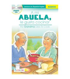 Get the best of both worlds with the Pbs Publishing Spanish-English Book With CD-My Grandma Likes To Cook. Available as a single educational book and CD set, kids can read engaging Spanish and English