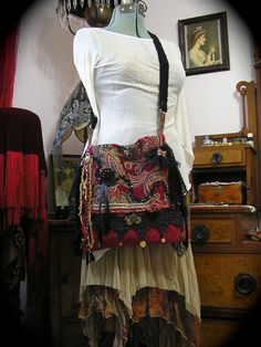 Zigeuner böhmischen Tasche über Taschen von GrandmaDede auf Etsy, $176.00