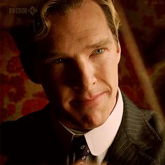 This smile simply kills me. And that entire scene with his small son brings me to tears.//  Parade's End (gif)