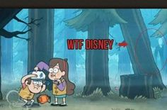 Slender man in the background of a kids disney show…. Disney seems a little more evil then I remember them lol