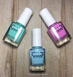 Color Club Spring Color Nail Polishes