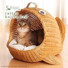 Bildergebnis für 猫 ベッド ラタン