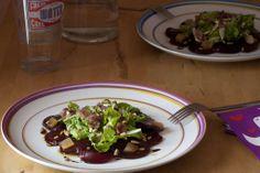Espía en la cocina: Ensalada de remolacha, parmesano y membrillo de ma...