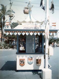 Fantasyland ticket booth, Disneyland, 1960s | Flickr - Photo Sharing!