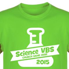 Science VBS Shirt for SonSpark Labs VBS - Custom VBS T-Shirt (Available in 40+ Shirt Colors) #SonSparkLabsVBS #VBSTShirt #VBS