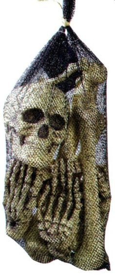 Halloween FX Props - Bag of Life Size Bones Halloween Prop